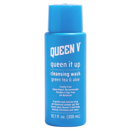 Queen V, Queen It Up Cleansing Wash Green Tea & Aloe, 10.1 Fl Oz by Queen V