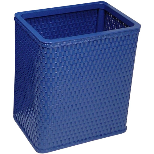 Chelsea Collection Decorator Color Square Wicker Wastebasket