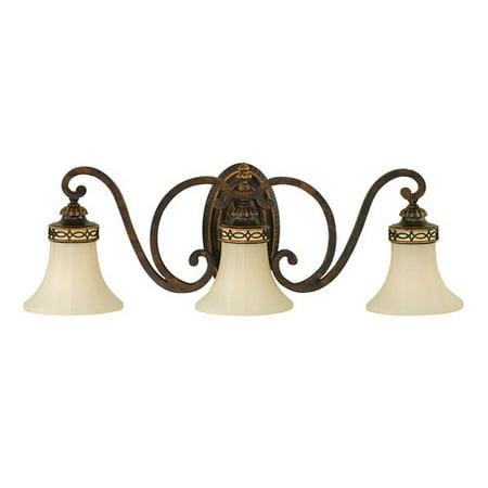 Murray Feiss VS11203 Edwardian 3 Light Bathroom Vanity Light