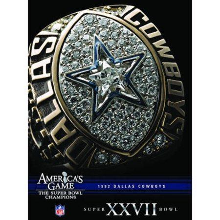 Nfl Americas Game  1992 Cowboys  Super Bowl Xxvii