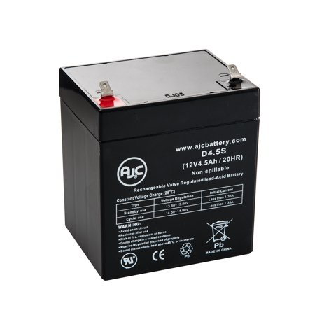 e ton beamer 50 50cc 39 00 39 03 12v 4 5ah scooter battery this is an ajc brand replacement. Black Bedroom Furniture Sets. Home Design Ideas