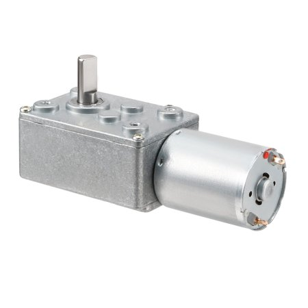 DC 24V 1.2RPM Output Speed 6mm Shaft Electric Power Gear Box Motor