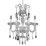 Allegri by Kalco Lighting Allegri Clovio 6-light Crystal Chandelier