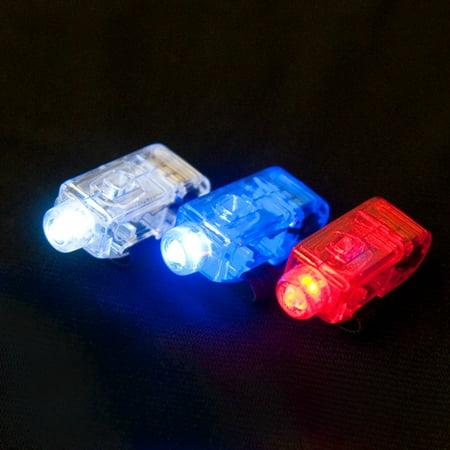 LED Light Up Finger Lights - 12 per pack - Led Finger Light