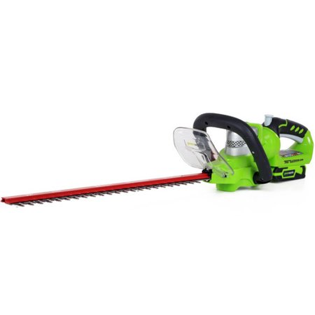 Greenworks 22-Inch 24V Cordless Hedge Trimmer, Battery Not Included 2200302