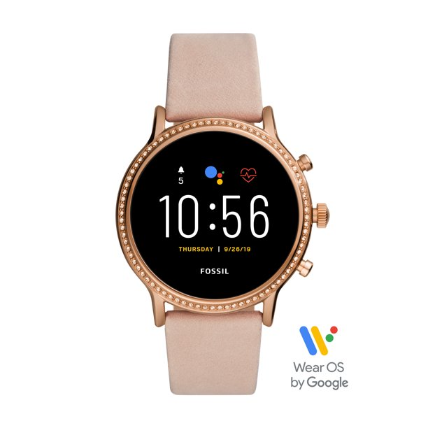 Fossil Gen 5 Julianna HR Women's Smartwatch - Blush Leather - Powered with Wear OS by Google
