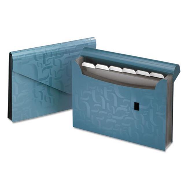 Pendaflex 01158 7 Pockets Expanding Poly Files - Letter, Blue