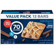 Fiber One 70 Calories Soft-Baked Bar, Cinnamon Coffee Cake, 12 Ct Value Pack, 10.6 Oz
