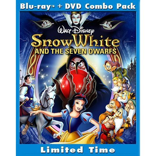 Snow White And The Seven Dwarfs (2-Disc Blu-ray + Standard DVD) (Blu-ray) (Full Frame)