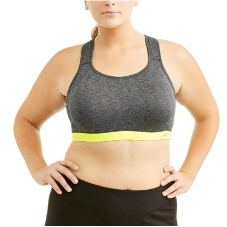0a74d0c595bcf Avia - Women s Plus-Size Active High Impact Sports Bra With Cushioned Straps  - Walmart.com