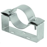 """Duravent Fsawb03 Adjustable Wall Bracket For 3"""" Fasnseal Vent Pipe From The - Stainless"""