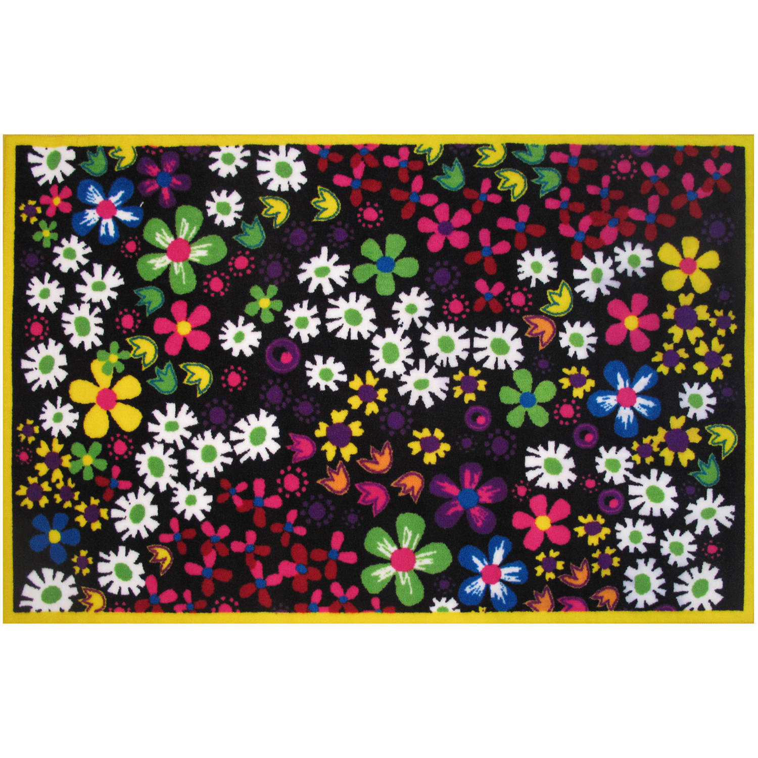 Fun Rugs Floral Kids Rugs