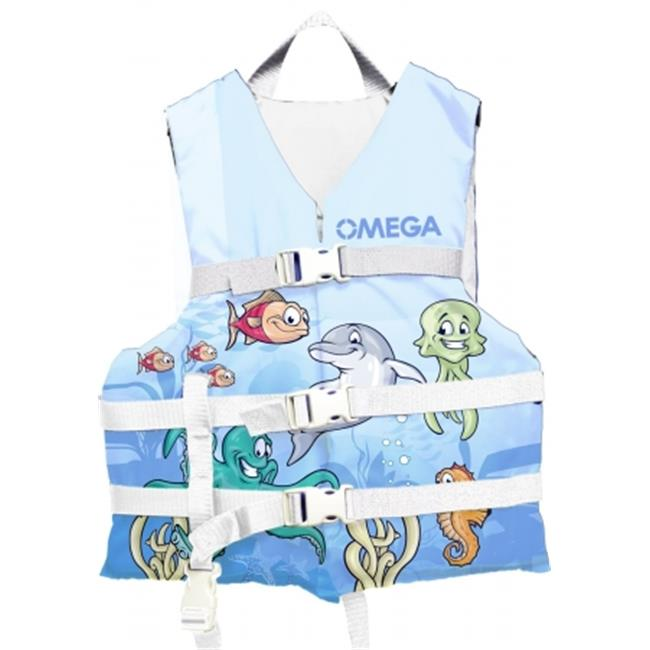 Flowt 40221-INFCLD All Purpose Character Life Vest - Sea Friends, Infant & Child