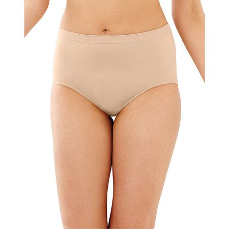Bali Womens Comfort Revolution Seamless Brief Panty