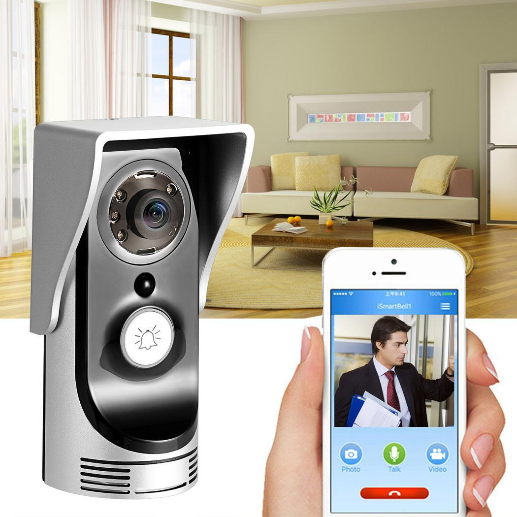 2018 The Newest Hascon Wireless WiFi Remote Video Camera Door Phone Monitor Safe Smart Doorbell HITC