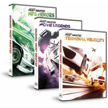 Electronic Arts NFS Most Wanted Deluxe DLC Bundle (Digital Code)