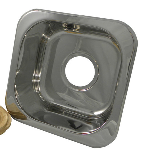 Opella 12.2'' x 12.2'' Square Bar Sink