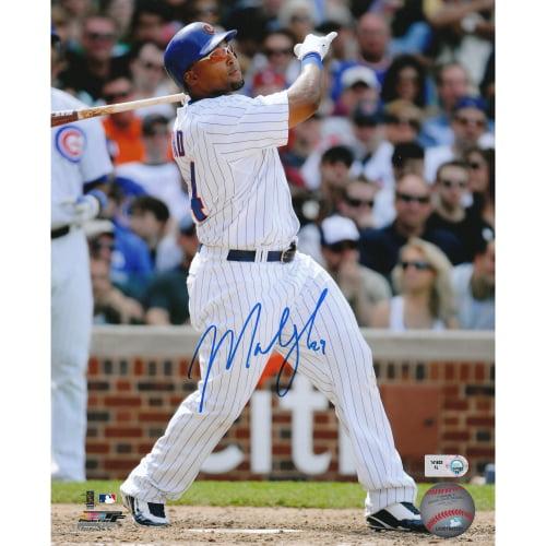 """Marlon Byrd Chicago Cubs Fanatics Authentic Autographed 8"""" x 10"""" Batting Photograph - No Size"""