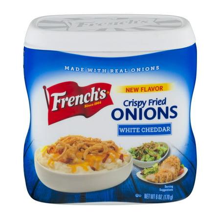 Frenchs Crispy Fried Onions White Cheddar  6 0 Oz