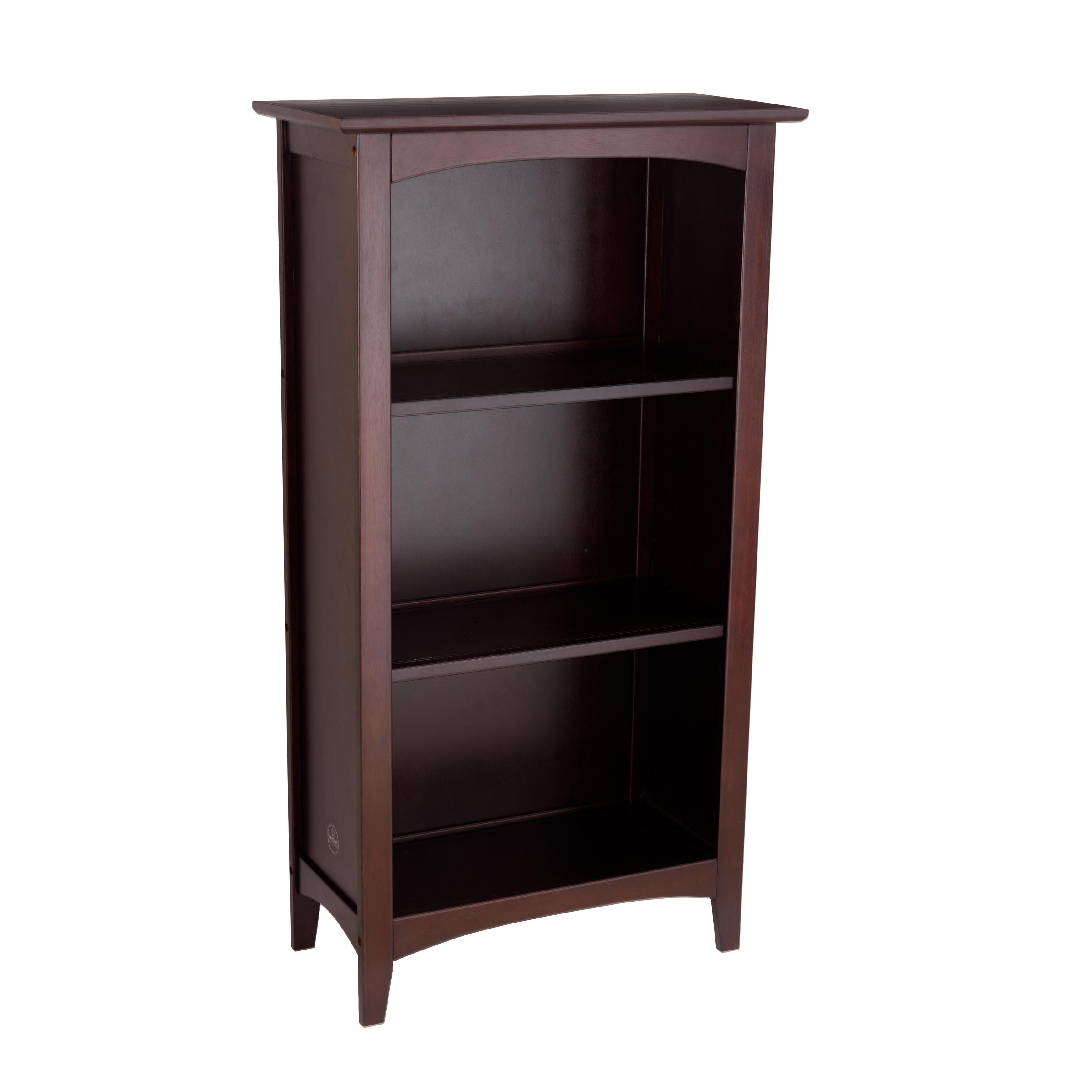 kidkraft avalon three shelf bookcase espresso walmart