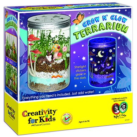 Grow N' Glow Terrarium - Craft Kit by Creativity for Kids - Art And Craft For Children Halloween