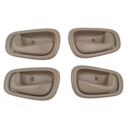 Toyota Corolla Tan Interior Door Handles Set of 4, Set of 4 Handles By DAP