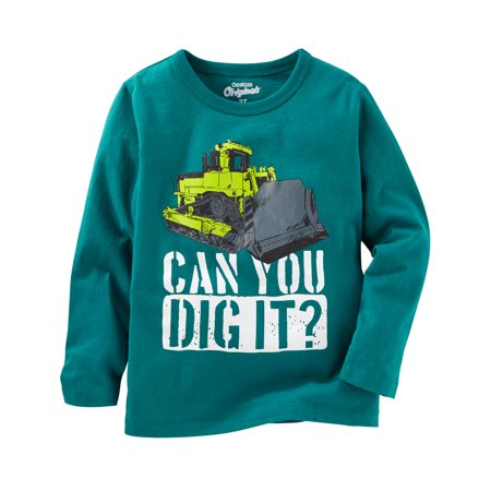 - OshKosh B'gosh Baby Boys' Graphic Tee, Green 6 Months