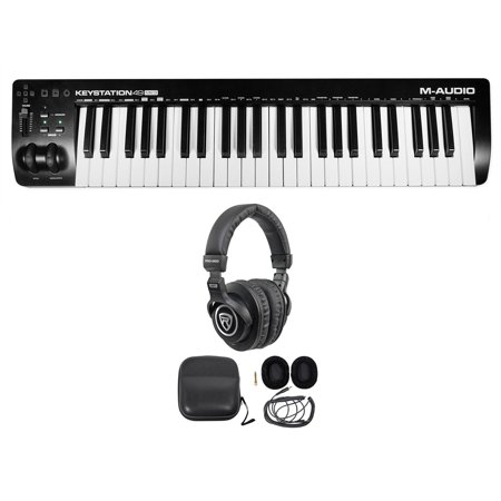 M-Audio Keystation 49 III 49-Key USB MIDI Keyboard Controller MK3 +