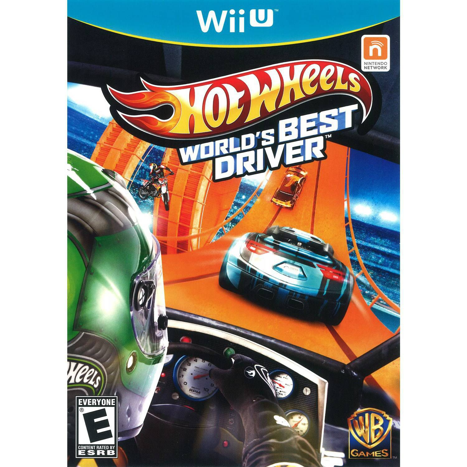 HOT WHEELS:WORLDS BEST DRIVER WIIU ACTION
