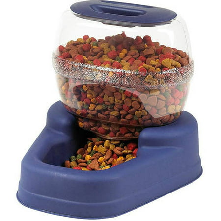 Bergan Petite Gourmet Pet Feeder, Small, Blue 13