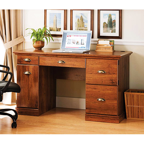 Better Homes and Gardens Desk, Oak