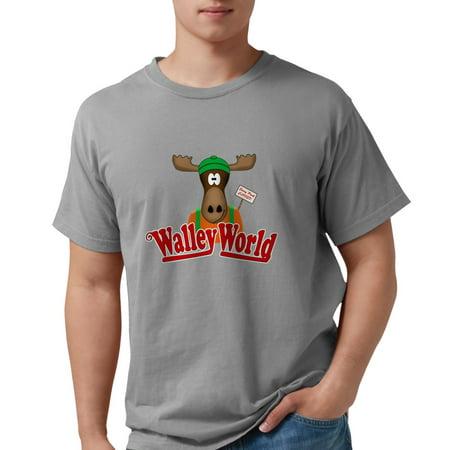 b6a707492 CafePress - CafePress - National Lampoon Walley World Moose Sign T Shirt -  Mens Comfort Colors® Shirt - Walmart.com