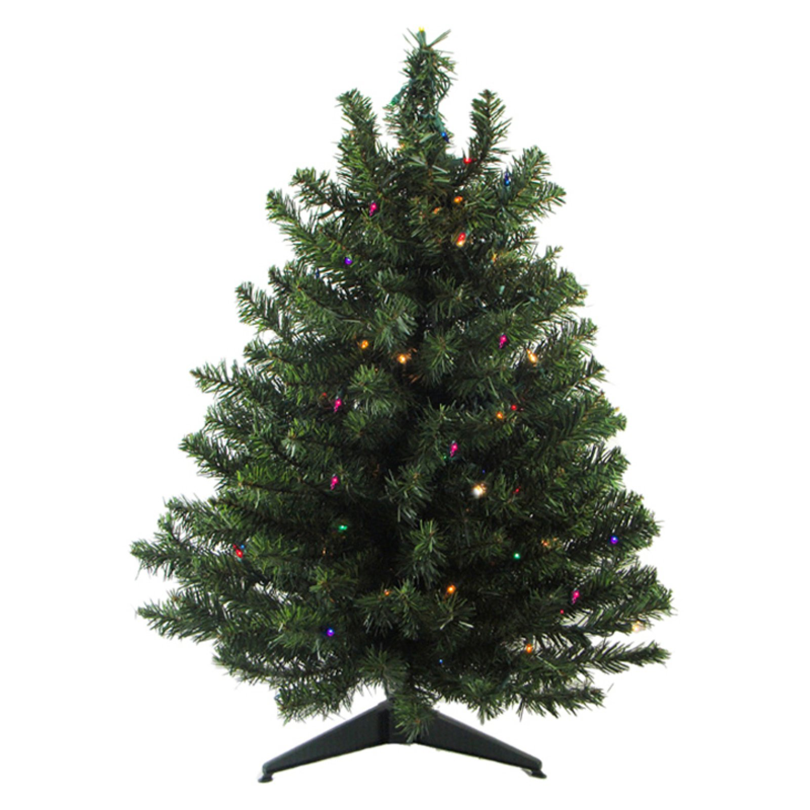 Northlight Pre Lit Artificial Two Tone Canadian Pine Christmas Tree