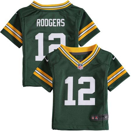 online retailer 0b471 98be9 Aaron Rodgers Green Bay Packers Nike Infant Team Color Game Jersey - Green