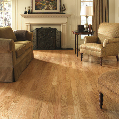 LM Flooring Gevaldo 3'' Engineered Red Oak Hardwood Flooring in Natural