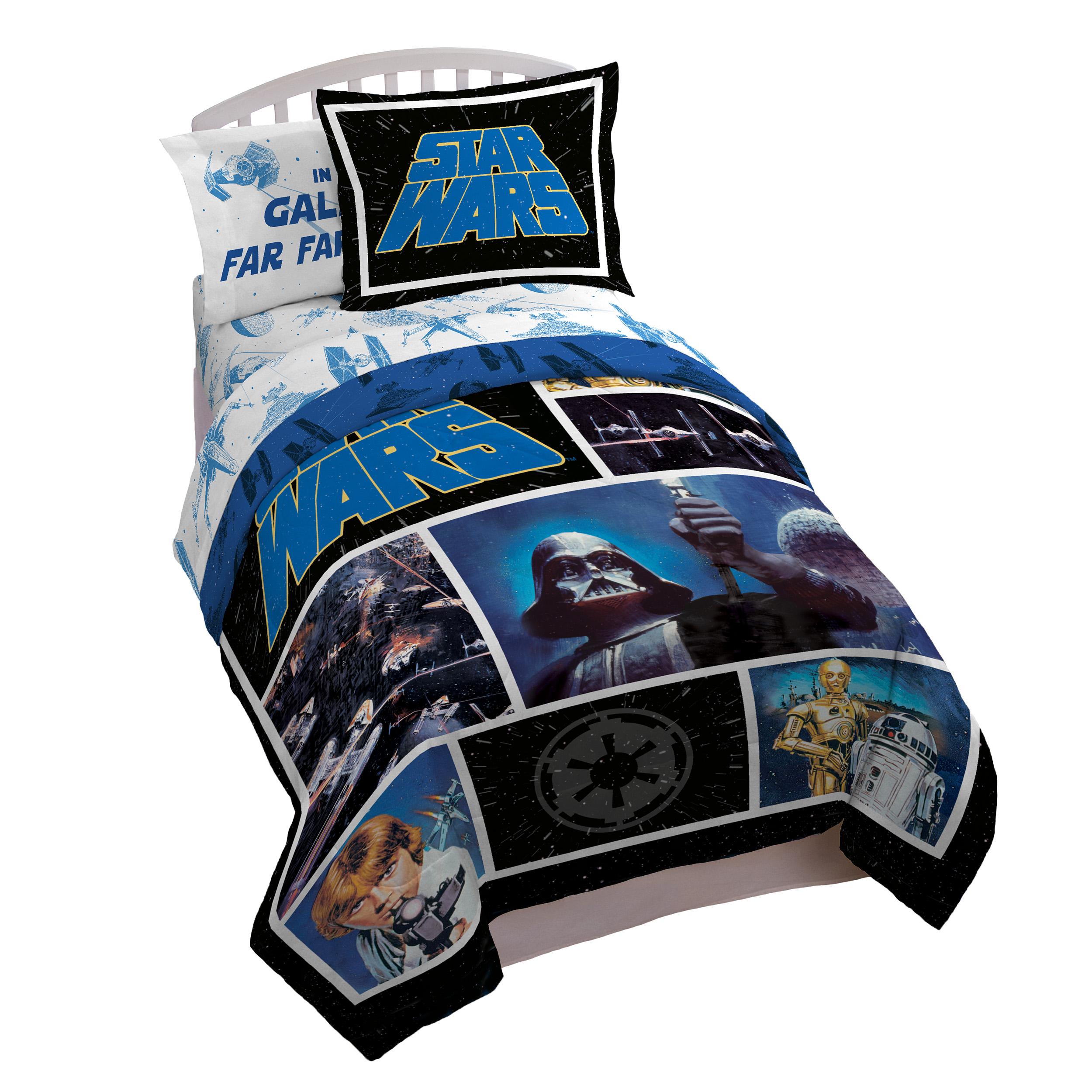 Star Wars Classic Logo Twin/Full Comforter