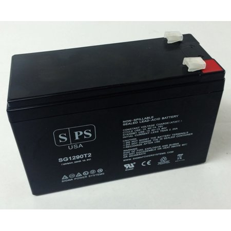 SPS Brand 12V 9Ah Replacement Battery for PCM Powercom King Pro (Terminal T2) (1 Pack)