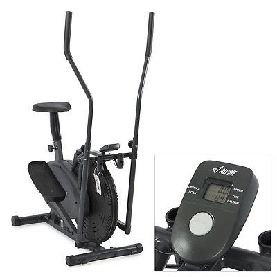Stylish Elliptical Bike 2 IN 1 Cross Trainer Exercise Fitness Machine Home Gym Workout [Istilo207869]
