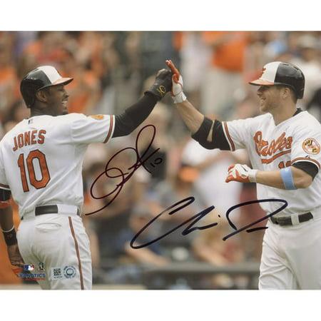 Chris Davis, Adam Jones Baltimore Orioles Fanatics Authentic Autographed 8