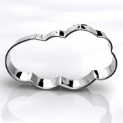 Cloud Cookie Cutter- Stainless Steel
