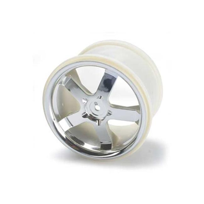 Traxxas TRA5373 Wheels Hurricane 3. 8 inch Chrome fits Revo-Maxx Series by