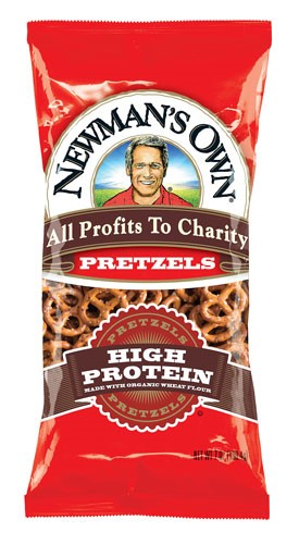 Newman's Own Organics Organic Pretzels High Protein 7 Ounce by NEWMAN'S OWN