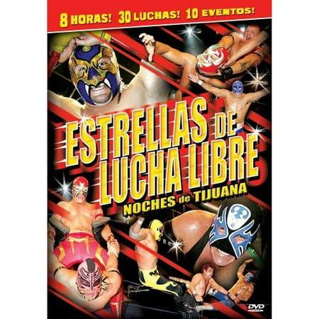 Estrellas De Lucha Libre: Noches De Tijuana (Spanish) - Noche De Terror Halloween Pelicula