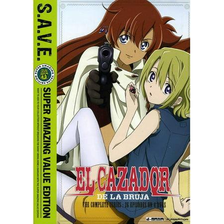 El Cazador De La Bruja - Complete Series (DVD) - Halloween Bruja Animado