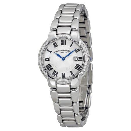 Weil Sweet - Raymond Weil Jasmine Silver Dial Diamond Ladies Watch 5229-STS-01659