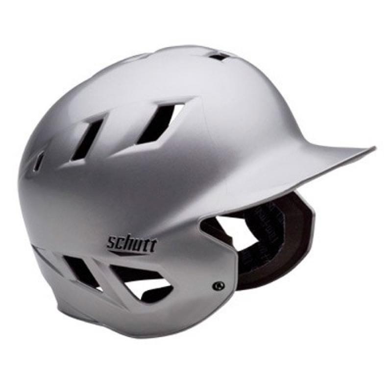 Schutt Sports AiR-8 Batter's Softball Helmet, Metallic Silver, Medium