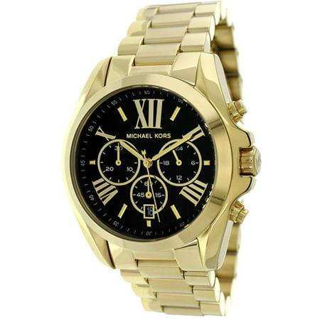 Women's Bradshaw Gold Tone Chronograph Watch MK5739 (Michael Kors Sonnenbrille Braun)