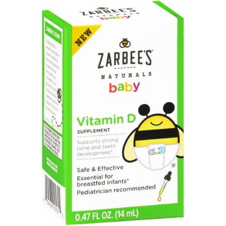 Zarbee S Naturals Baby Vitamin D Supplement Walmart Com