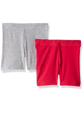 Clementine Apparel Toddler Girls' Bike Shorts 2 Pack
