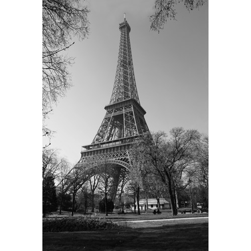 "Canvas Wall Art of Eiffel Tower in Paris, 21.5"" x 32.5"""